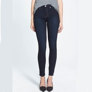 Paige Hoxton Ultra Skinny High Rise Jeans in Mona